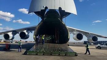 Второй самолёт РМК с гуманитарной помощью для врачей прибыл в Екатеринбург