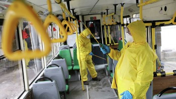 Вобщественном транспорте Екатеринбурга после дезинфекции нашли кишечную палочку