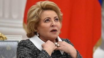 Матвиенко: Работа над законопроектом о семейно-бытовом насилии остановлена из-за эпидемии коронавируса