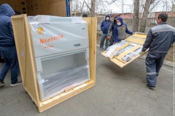 В Нижний Тагил доставили оборудование для проведения тестов на коронавирус