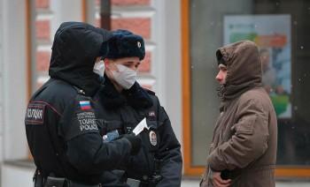 В Москве задержали жителя, который переоделся в полицейского, чтобы выйти из дома