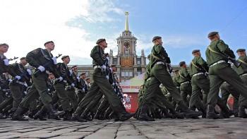 ВЕкатеринбурге из-за коронавируса отменили репетиции парада Победы