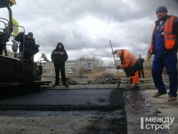 В Нижнем Тагиле началась укладка первого асфальта в рамках нацпроекта «Безопасные и качественные дороги»
