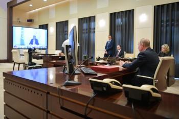 Путин поручил губернаторам за«ближайшие дни» выработать схемы смягчения ограничений