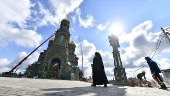 Минобороны объявило о завершении строительства главного храма Вооружённых сил