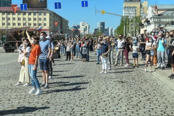 Полиция Екатеринбурга 9 Мая составила 880 протоколов на нарушителей самоизоляции