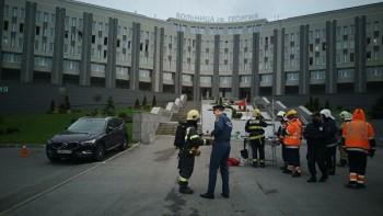 При пожаре в больнице для заражённых COVID-19 в Санкт-Петербурге погибли пять человек