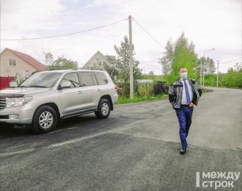 Мэр Владислав Пинаев проверил сделанные в Нижнем Тагиле по нацпроекту БКАД улицы