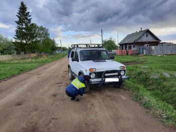 В селе под Нижним Тагилом внедорожник сбил переходившего дорогу 7-летнего мальчика