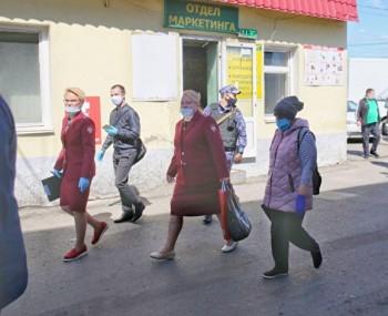 Наовощебазу №4 в Екатеринбурге после вспышки коронавируса пришли Роспотребнадзор и Росгвардия