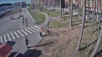 В Берёзовском мужчина на роликовых коньках насмерть сбил пенсионерку