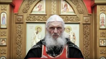 Отданный под церковный суд схиигумен Сергий выступил сновой проповедью, в которой раскритиковал Путина