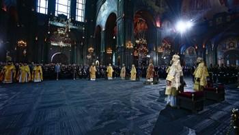 Патриарх Кирилл освятил храм Минобороны, открытие которого состоится 22 июня