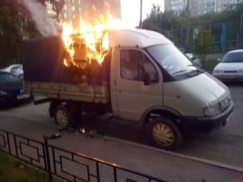 В Нижнем Тагиле ночью сожгли грузовую «Газель»