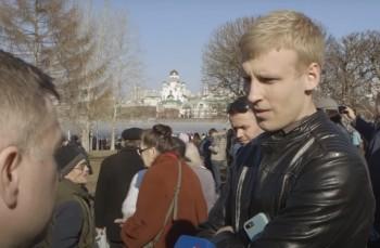 Уральские журналисты требуют оправдать екатеринбуржца Максима Шибанова за толчок в сквере православного активиста Максима Румянцева