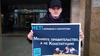 Противникам поправок в Конституцию предложили голосовать вмасках снадписью «НЕТ»