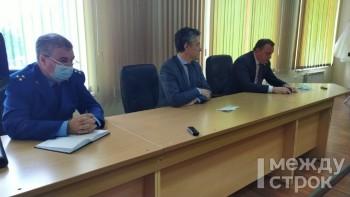 Владислав Пинаев провёл встречу с рабочими НТЗМК, которые угрожают митингом из-за потери заказов