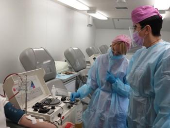 В Екатеринбурге наградили главврача станции переливания крови, где берут плазму для лечения коронавируса