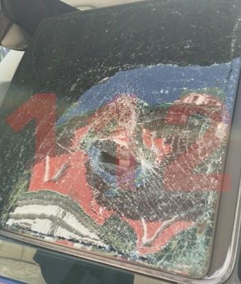 Напараде Победы вМоскве срочник разбил оружием окно микроавтобуса ФСО
