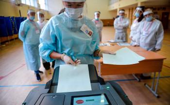 ВМоскве углавы УИК вСеверном Тушино вовремя голосования обнаружили коронавирус