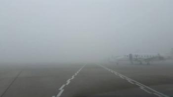 В Кольцово из-за сильного тумана задержан прилёт восьми самолётов