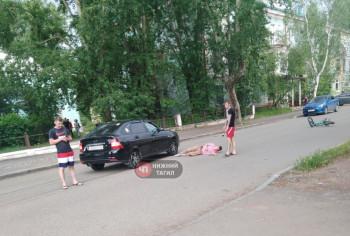 В Нижнем Тагиле Lada сбила подростка на велосипеде