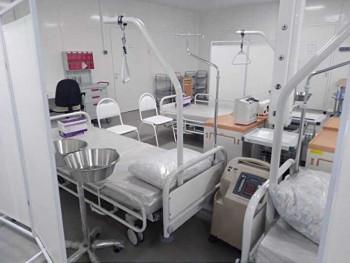 Госпиталь в «Экспо-центре» начнёт принимать больных с коронавирусом уже на этой неделе