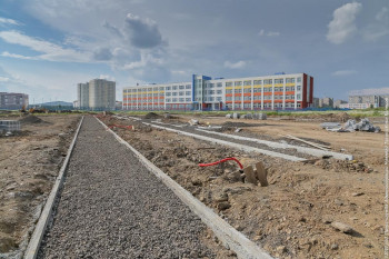 Строительство нового парка на Муринских прудах обещают завершить уже в сентябре