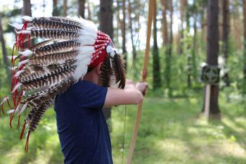 В выходные под Нижним Тагилом развернулся «Индейский лагерь», созданный психологами для детей
