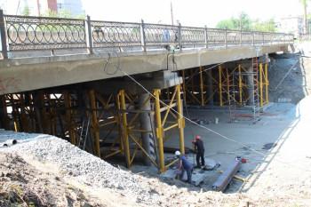 Подрядчик просит на ремонт моста на проспекте Мира дополнительные деньги