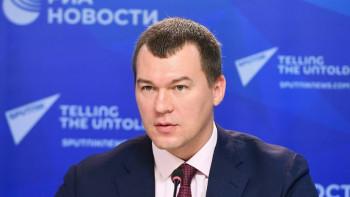 Первую пресс-конференцию врио главы Хабаровского края отменили за несколько минут до начала «из-за сложной эпидемиологической ситуации»