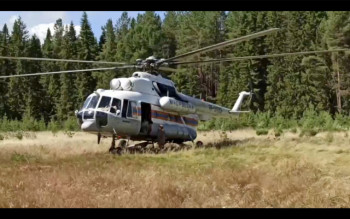 Ради перелёта главы МЧС в Нижние Серги с тушения лесного пожара в заповеднике «Денежкин Камень» отозвали единственный вертолёт