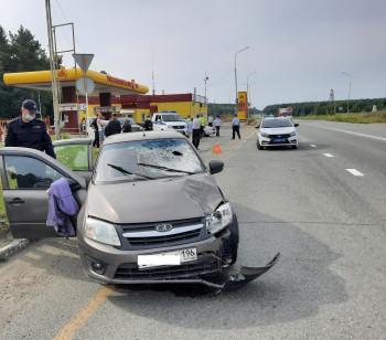 На окраине Нижнего Тагила Lada Granta сбила насмерть 64-летнюю женщину