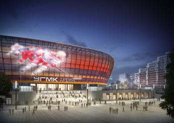 Из бюджета Свердловской области выделят миллиард рублей на Ледовую арену УГМК в Екатеринбурге