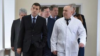 Губернатор Куйвашев назначил нового министра здравоохранения Свердловской области. Экс-министр Цветков станет советником главы региона