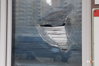 В Екатеринбурге мужчина разбил кирпичом окно медцентра из-за отказа врачей выдать справку