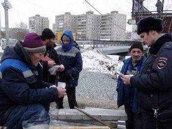 Полицейские Нижнего Тагила провели рейд против нелегалов