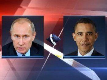 Владимир Путин обсудил с Бараком Обамой двусторонние отношения России и США
