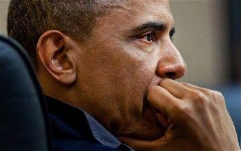 «1 мертвый Обама=7650 живых украинцев». В Перми на мосту повесили чучело президента США