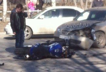 В Нижнем Тагиле почти в одно и то же время сбиты два мотоциклиста