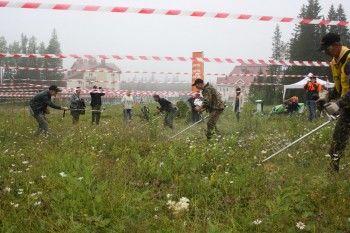 Чемпионат косарей на горе Белая