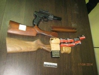 В Нижнем Тагиле обнаружили подпольную оружейную мастерскую