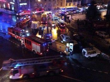 Не менее 10 человек пострадали при взрыве в супермаркете Санкт-Петербурга