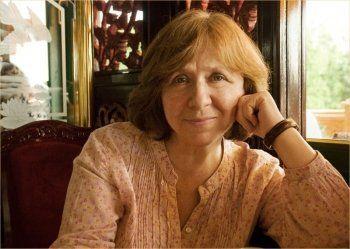 Белорусская писательница Светлана Алексеевич получила Нобелевскую премию по литературе