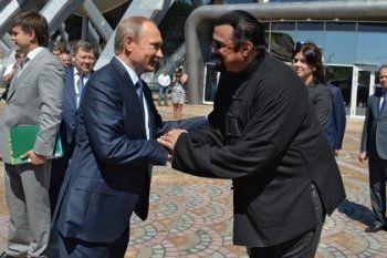 Путин отказал Стивену Сигалу в поединке