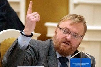 Милонов объявил о победе над геями Санкт-Петербурга