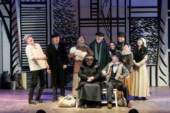 Беды и радости Тевье-молочника: премьера в драматическом