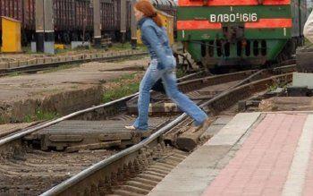 В Екатеринбурге поезд насмерть сбил женщину (ФОТО)