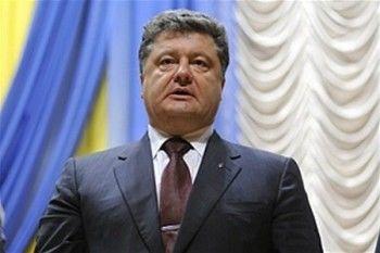 Порошенко сообщил о полном прекращении огня на Донбассе