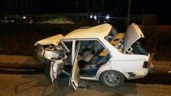 На Южном подъезде к Нижнему Тагилу неуправляемый Nissan «собрал» несколько машин